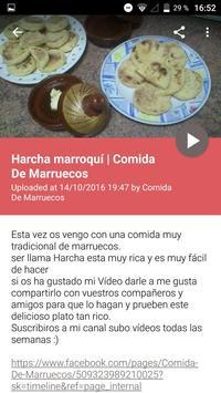 Recetas Comida Marroquí poster