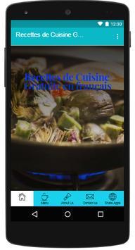 Recettes de Cuisine Gratuite apk screenshot