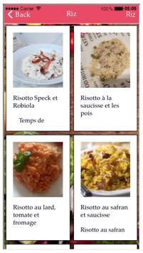 Recettes  Italiennes Cuco screenshot 2