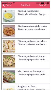 Recettes  Italiennes Cuco screenshot 4