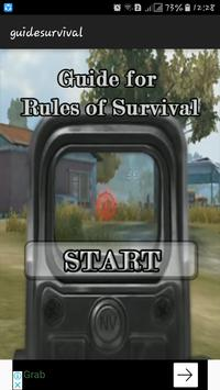 Guide : for Rules of Survival poster
