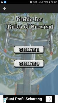 Guide : for Rules of Survival apk screenshot