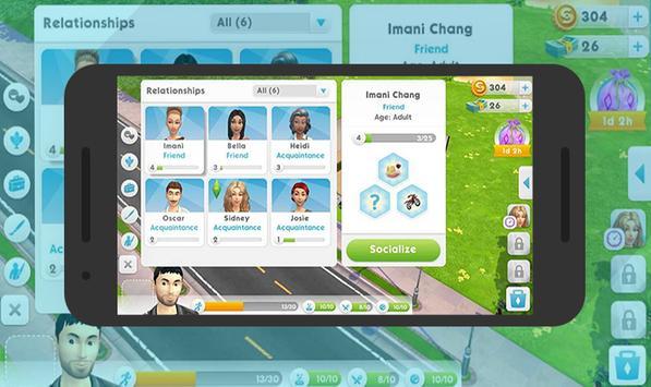 Guide The Sims Mobile 4 screenshot 2