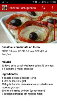 Receitas Portuguesas screenshot 4