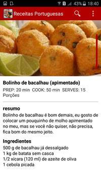 Receitas Portuguesas screenshot 5
