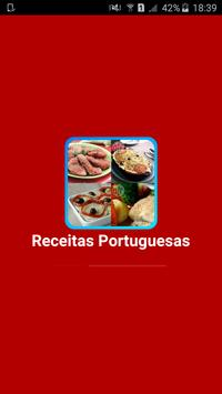 Receitas Portuguesas poster