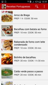 Receitas Portuguesas screenshot 1