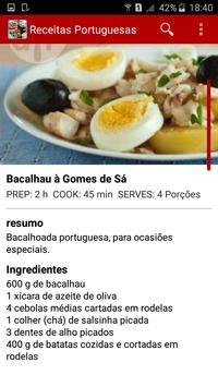 Receitas Portuguesas apk screenshot