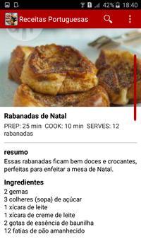 Receitas Portuguesas screenshot 3