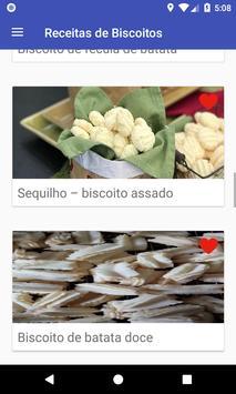 Receitas de Biscoitos screenshot 13