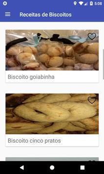 Receitas de Biscoitos screenshot 10