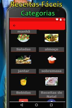 Receitas Faceis apk screenshot