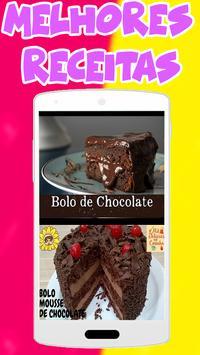 Bolo de Chocolate Low Carb poster