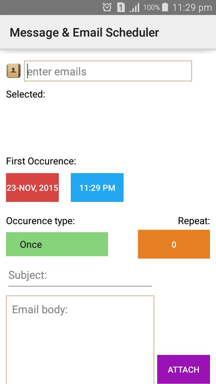 Message Email Scheduler For Android Apk Download