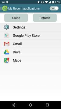Swipe Recent Apps poster