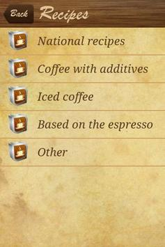 Coffee Recipes apk screenshot
