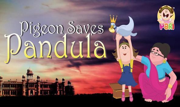 Pigeon Saves Pandula - Kids poster