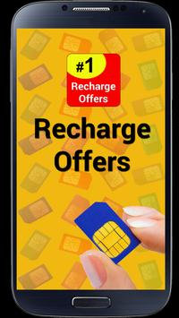 Recharge Plans & Offers poster