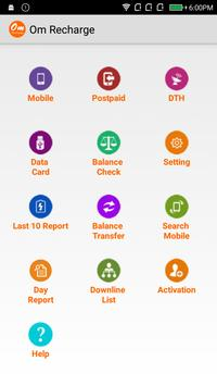 Om Recharges apk screenshot