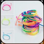 Bracelets made of elastic icon
