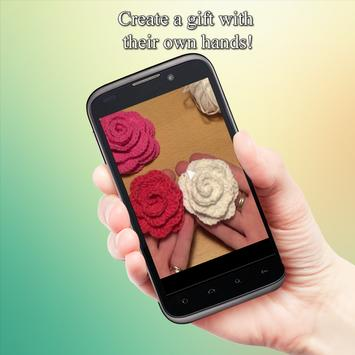 Ideas crochet flowers apk screenshot