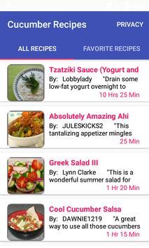 Cucumber Recipes:free recipe app screenshot 8