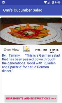Cucumber Recipes:free recipe app screenshot 2