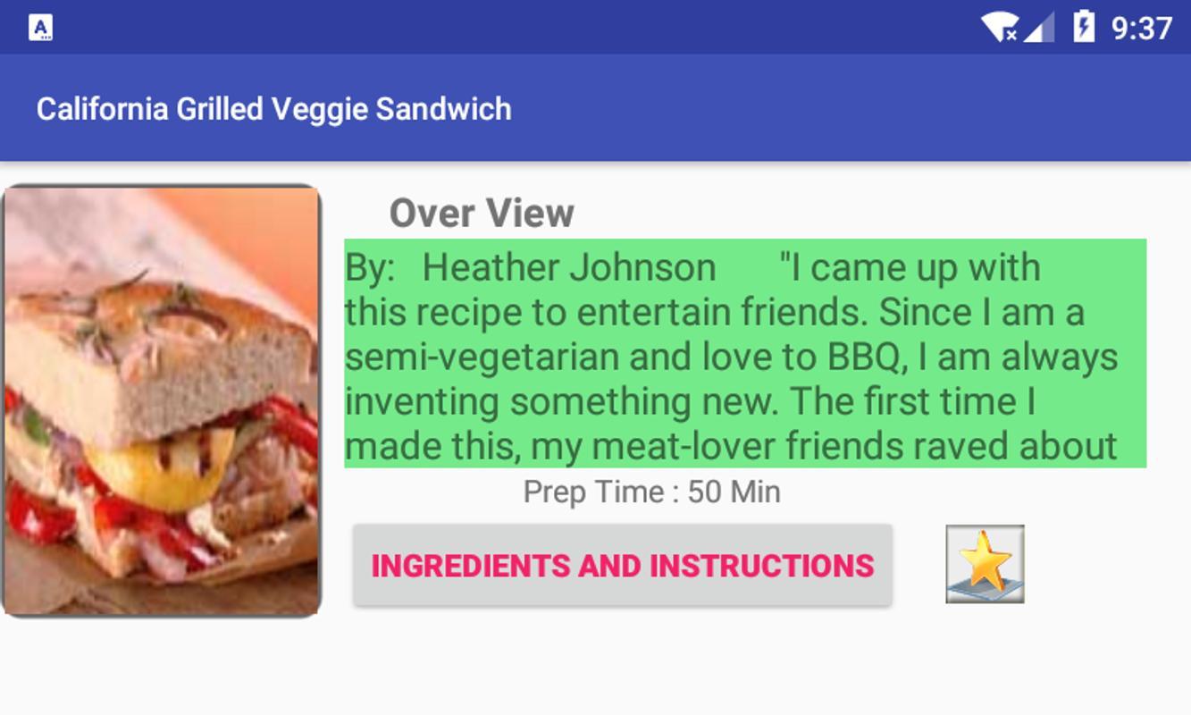 Summer sandwiches recipesfree recipe app for android apk download summer sandwiches recipesfree recipe app captura de pantalla 3 forumfinder Image collections