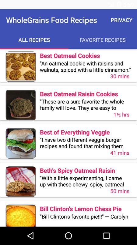Wholegrains food recipes free recipe app apk download free food wholegrains food recipes free recipe app poster forumfinder Images
