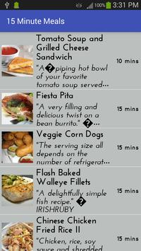 15 Minute Meals poster