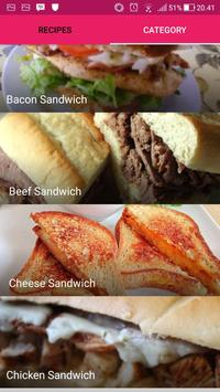 Easy Sandwich Recipes poster
