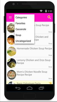 Easy Chicken Recipes apk screenshot