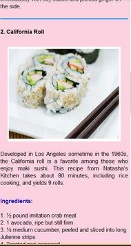 japanese food recipes screenshot 6