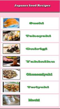 japanese food recipes poster