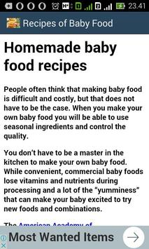 Baby food recipes apk download free food drink app for android baby food recipes apk screenshot forumfinder Gallery