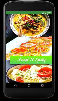 Sweet N Spicy Recipes poster