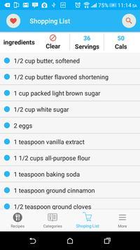 Cookie Recipes screenshot 2