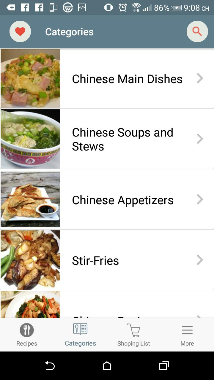 Chinese Recipes poster