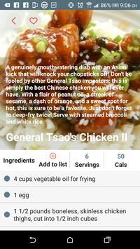 Chinese Recipes screenshot 1