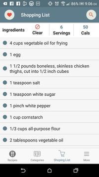 Chinese Recipes screenshot 2