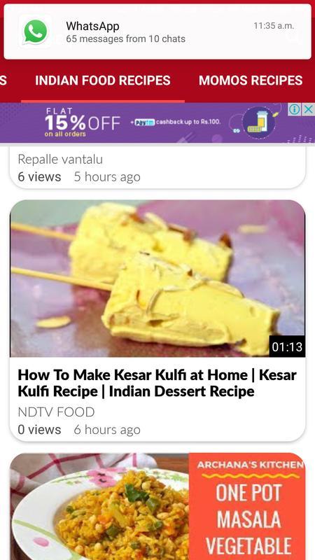 Best recipes videos descarga apk gratis comer y beber aplicacin best recipes videos captura de pantalla de la apk forumfinder Choice Image