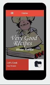 Recipes Winter apk screenshot
