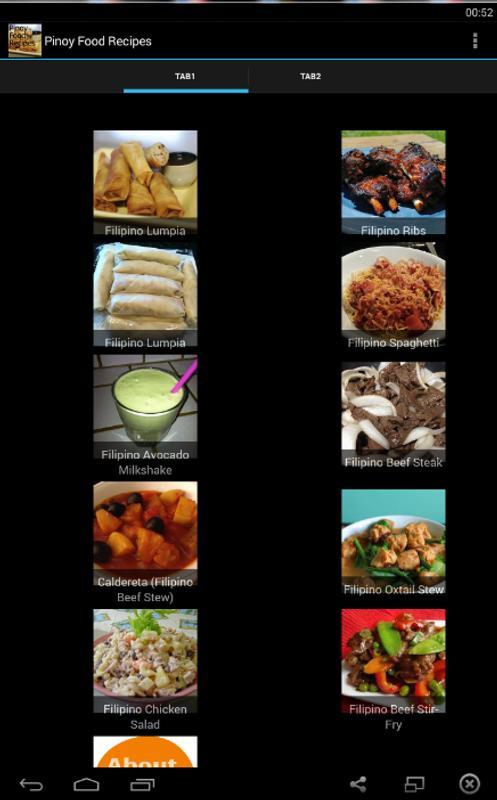 Pinoy food recipes descarga apk gratis estilo de vida aplicacin pinoy food recipes poster pinoy food recipes captura de pantalla de la apk forumfinder Gallery