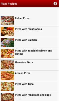 Hot Pizza Maker Recipes Free poster