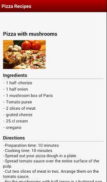 Pizza Recipes Free apk screenshot