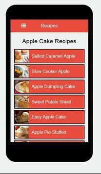 Recipes Apple Cake apk screenshot