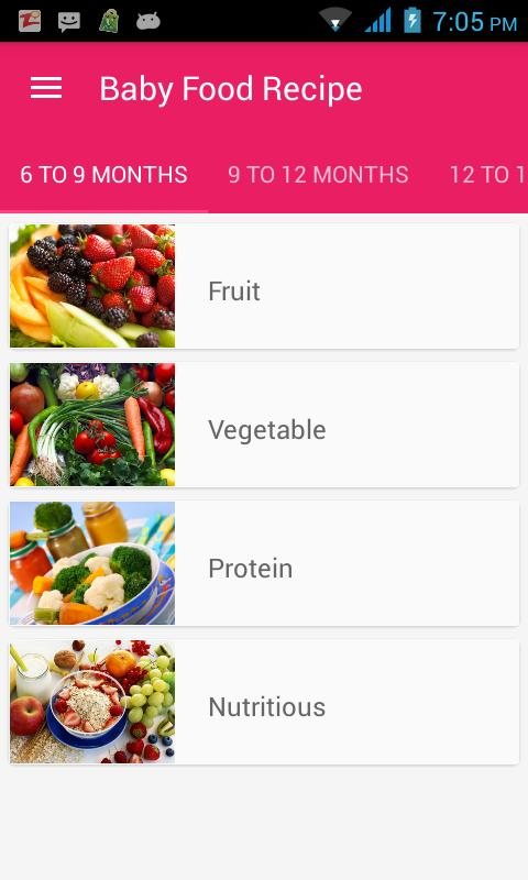 Baby food recipes apk download free health fitness app for baby food recipes apk screenshot forumfinder Image collections