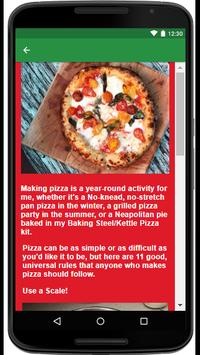 Restaurant Pizza Recipes screenshot 2