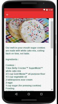 Sugar Cookie Recipe screenshot 2