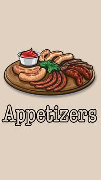 Appetizers poster